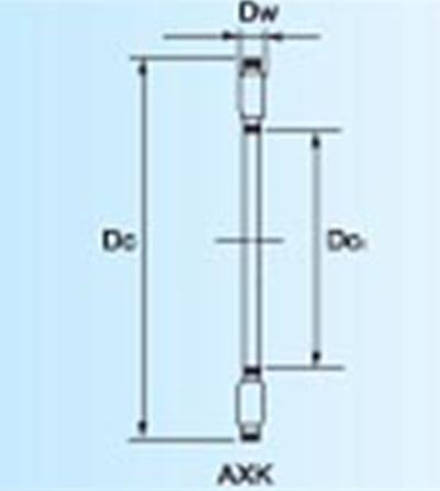 推力滚针和保持架组件说明