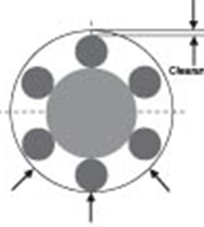 汽车水泵轴连轴承说明